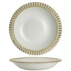 "Robert Gordon Adelaide Birch Wide Rimmed Pasta Plate 10.375"" / 26.4cm"