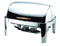 Sunnex 1/1 Gastronorm Roll Top Chafing Dish Stainless Steel 64.5x47.5x43.5cm