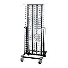 Lacor PlateStack Trolley for 100 Plates