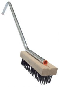 Coarse Bristle Char Brush