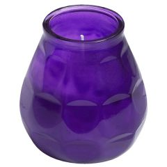 Bolsius Twilight Lowboy Candle Purple