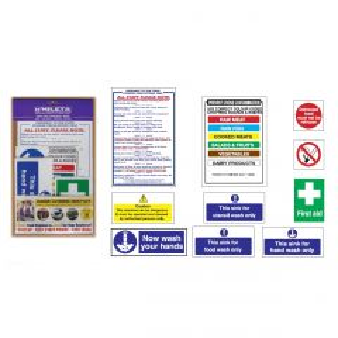 Junior Health & Safety Sign Pack