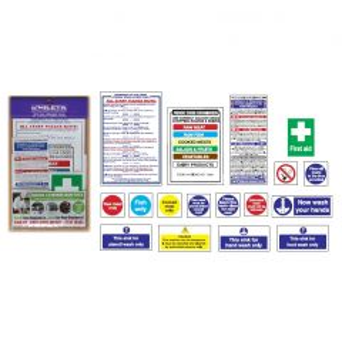 Senior Health & Safety Sign Pack