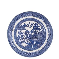 "Churchill Willow Pattern Side Plate 6.75"" / 17cm"