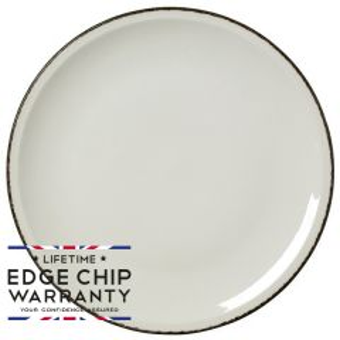 "Steelite Charcoal Dapple Pizza Plate 12.5"" / 31.5cm"