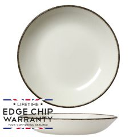 "Steelite Charcoal Dapple Coupe Bowl 8.5"" / 21.6cm"
