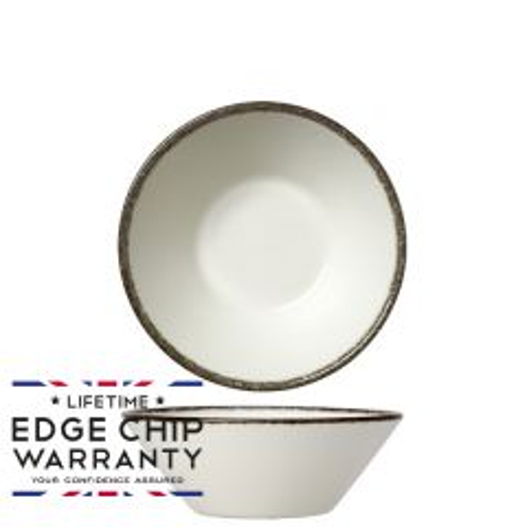 "Steelite Charcoal Dapple Essence Bowl 5.5"" / 14cm"