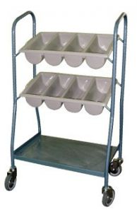 Cutlery Trolley (Trays Not Included) 110x58.5x38.5cm