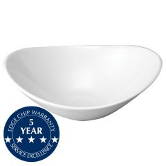 "Churchill Orbit Oval Coupe Bowl 10x8.25"" / 25.5x21.2cm"