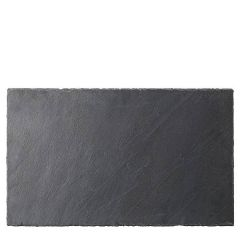 """Extra Large 1/1 Gastronorm Size Slate Platter 21x12.75"""" / 53x32cm"""