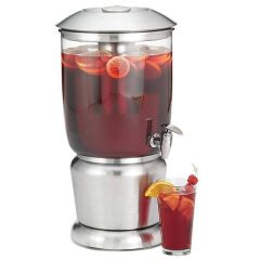 """Upscale Single Beverage Dispenser With Infuser 9.5Ltr 10.75x10.75x19.5"""""""
