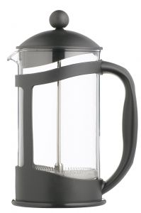 LeExpress Cafetiere with Polycarbonate Body and Black Plastic Frame 12.5oz / 35cl
