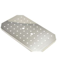 Stainless Steel Gastronorm Drainer Plate 1/1