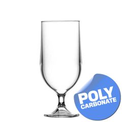 Elite Polycarbonate Stemmed Beer Goblet 15oz / 42cl