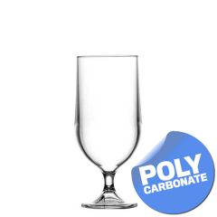 Elite Polycarbonate Stemmed Beer Goblet CE 10oz / 28.4cl