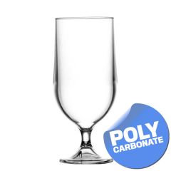 Elite Polycarbonate Stemmed Beer Goblet CE 20oz / 57cl