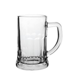 Handled Abbey Beer Tankard Glass 20oz / 57cl CE