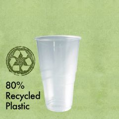 Disposable rPET Half Pint Tumbler CE to Brim 10oz / 28.5cl