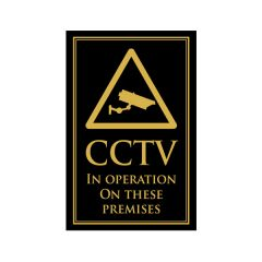 CCTV In Operation Sign 170x260mm