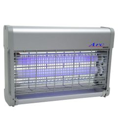 Arc 4000 20W Aluminium Finish Fly Killer 70m2 coverage 43x26.5cm
