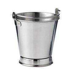 """Stainless Steel French Fries Footed Bucket 4x4""""/10x10cm"""