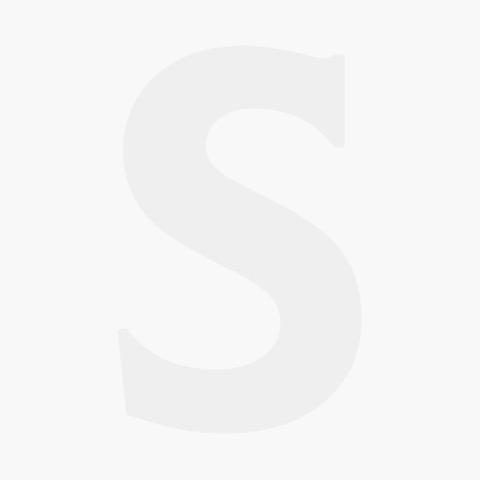 "Oval Black Plastic Classic Serving Basket 9.5x6x2"" / 24x15x5cm"