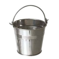Stainless Steel Serving Bucket 10x9cm 17.6oz/50cl