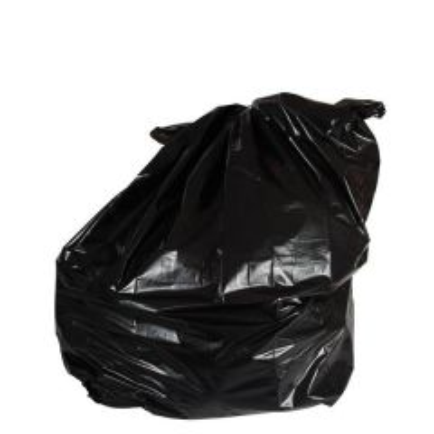 "Ultra Heavy Duty Black Bin Bags / Compactor Sack 20kg 33x47"" / 85x119cm"
