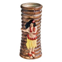Porcelain Hula Girl Tiki Mug 11.25oz / 32cl
