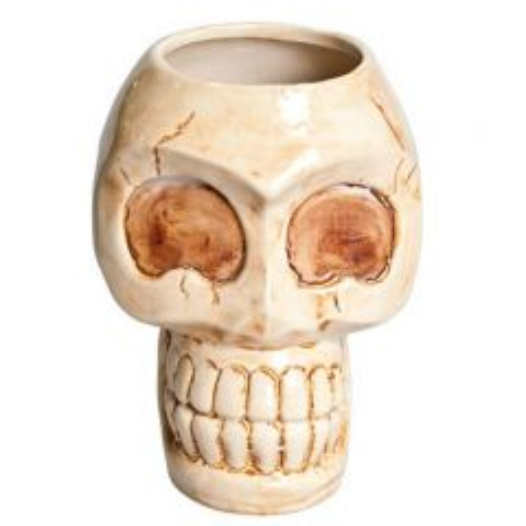 Ceramic Skull Tiki Mug 31oz / 88cl