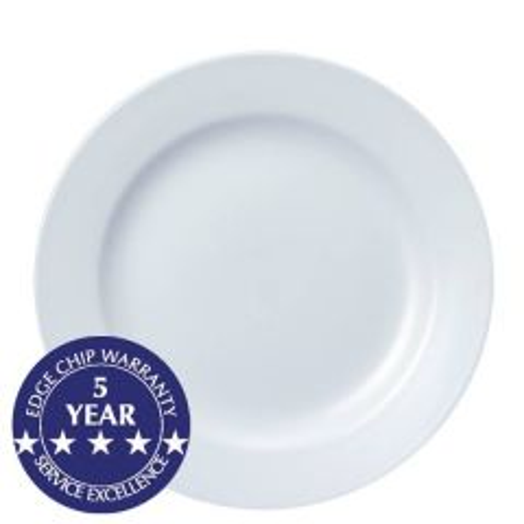"Churchill White Classic Plate 11"" / 28cm"