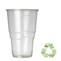Biodegradable Disposable Pint Glass 20oz / 57cl Pint to Brim CE