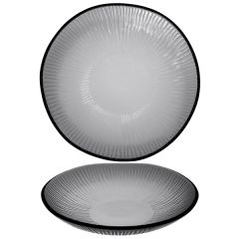 "Churchill Bamboo Dusk Organic Glass Bowl 8.5"" / 21.5cm"