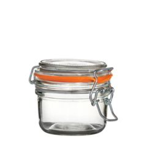 Glass Terrine Jar Clip Top 4.4oz / 125ml