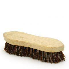 "Wooden Double Wing Scrubbing Brush 6.125""/154mm"