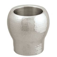 Signature Bolargo Double Walled Wine Cooler Hammered Finish 20x20x14cm