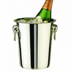 """Elia Stainless Steel Wine Cooler 7.5"""" / 19cm Tall"""