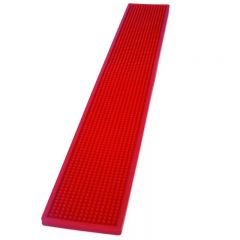 Extra Large Rail Bar Mat Red 700 x 100mm