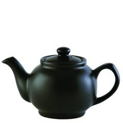 Price & Kensington Matt Glaze Black Teapot 2 Cup 16oz / 45cl