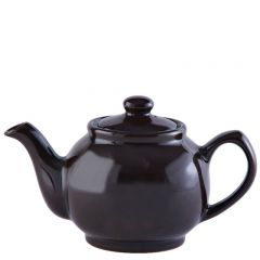 Price & Kensington Gloss Classic Brown Teapot 2 Cup 16oz / 45cl