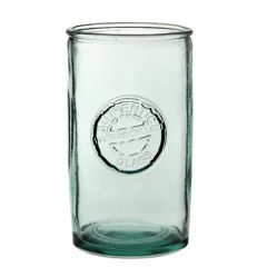 Authentico Recycled Glass Barrel Tumbler 17.25oz / 49cl