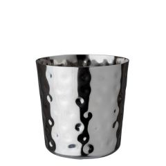 """Stainless Steel Hammered Serving Cup 3.3"""" /8.5cm"""