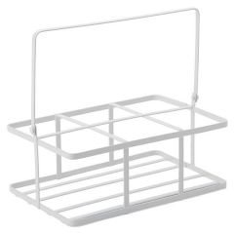 White Metal Crate 16x11cm