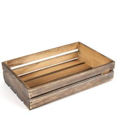 "Old Fashioned Style Display Crate 14x9x3"" / 35x23x8cm"