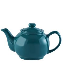 Price & Kensington Gloss Bright Teal Blue Teapot 2 Cup 16oz / 45cl
