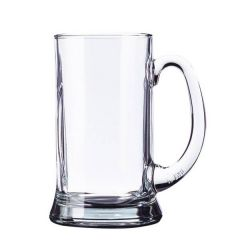 Icon Handled Pint Beer Glass Tankard CE 20oz / 57cl