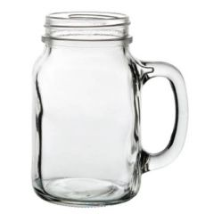 Tennessee Glass Handled Drinking Jar 22oz / 63cl