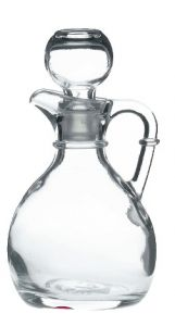 Glass Handled Vinegar with Stopper 6oz / 17cl
