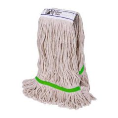 Green Colour Coded Stayflat Kentucky Mop Head 12oz/340g PY Yarn