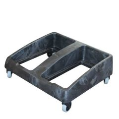 Grey Double Dolly For Transporting 60 & 87Ltr Slim Jim Bins